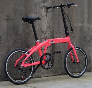Bicicleta plegable 20'' Cuadro de carbono Mini Cooper bicicleta plegable bicicleta