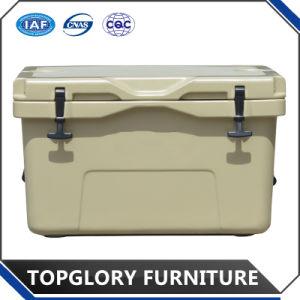 涼しいRotomoldedのポリエチレンのクーラーボックス氷は釣(TG-1005)のためのボックスを45L運ぶ