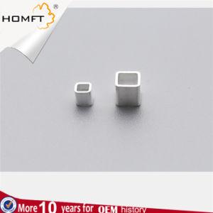 S925 de Zilveren 23mm Vierkante Toebehoren van de Juwelen van Parels DIY Met de hand gemaakte