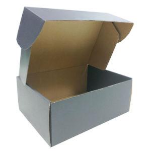 Reciclaje de medio ambiente Caja de papel Kraft de regalo ecológica