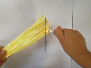 3000d-500000d Негорючий PP кабель пряжи PP пряжи Fibrillated наливной горловины топливного бака