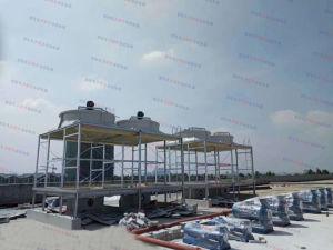 100-1200トンの正方形の横断流れのタイプ冷却塔