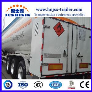 Transporte de Gás Natural Liquefeito 52600litros depósito de GNL semi reboque