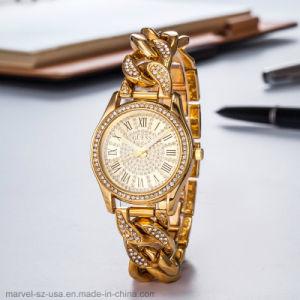 Les femmes de Luxe de marque en or rose cadeau étanche Mesdames Watch Watch