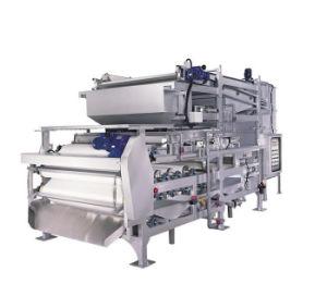 Piccola macchina della filtropressa della cinghia del laboratorio