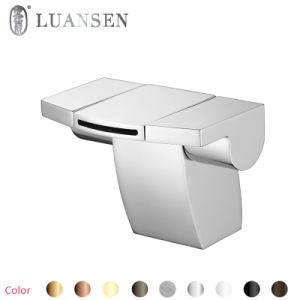 クラシックのヨーロッパの黒い蛇口の浴室のTthermostatの水栓のミキサー