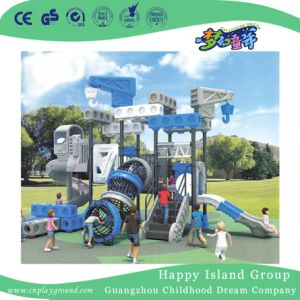 De openlucht Robot Gegalvaniseerde Speelplaats van het Staal voor Jonge geitjes (hj-11001)