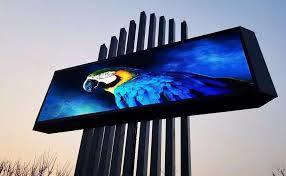 Grand écran couleur de la publicité de plein air mur vidéo fixe