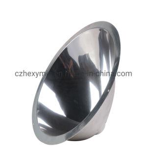 Cubierta de la luz baratos Lampshades aluminio haciendo girar la máquina con espejo pulido