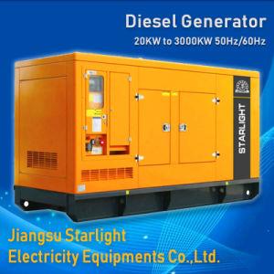 Silêncio Gerador Diesel Cummins gerando 25kVA de 2750kVA para venda de Fábrica do Gerador