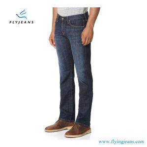 はえのジーンズによる人のためのFashionaleそして簡単で青いデニムのジーンズ