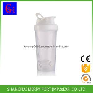 600ml 21oz BPAはStainessの鋼球が付いているプラスチックシェーカーのびんのシェーカーのコップを放す