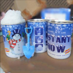 Giocattoli educativi della crescente della neve dell'acqua del rifornimento della fabbrica neve artificiale di natale