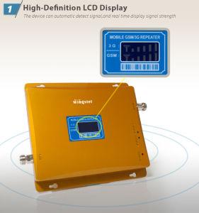 La India GSM/WCDMA 900/2100MHz Amplificador de señal móvil
