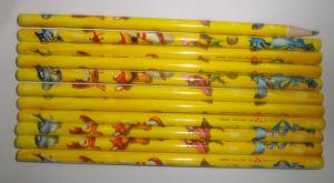 Matita di colore giallo della matita della matita 2b dell'allievo della matita dell'HB