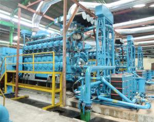 発電所のための4MW黒の開始のディーゼル発電機