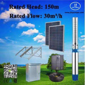 6inch zonnePomp Met duikvermogen, de Pomp van het Roestvrij staal, het Systeem van de Pomp van de Irrigatie 18.5kw