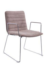 2017新製品のステンレス鋼(HT-810B-6)が付いている普及したオフィスの椅子