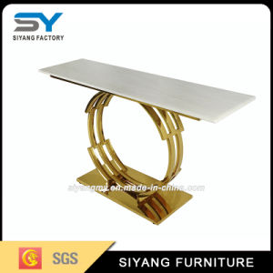 Гостиную мебелью в таблице консоли из нержавеющей стали