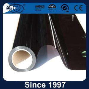 Material poliéster 15% Preto metálico na janela do carro de filme de tingimento