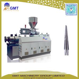 Máquina de Fatura Plástica da Eficiência Elevada Extrusora de Parafuso Gêmea Cónica