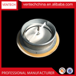 Système HAVC disque en aluminium évent de soupape de couvercle de soupape à disque en plastique