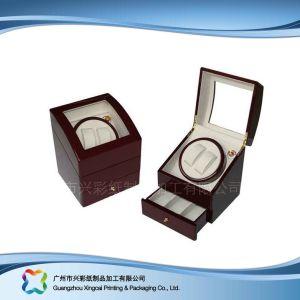 De madera y papel de lujo Mostrar caja de embalaje para ver las Joyas de regalo (XC-hbj-017)