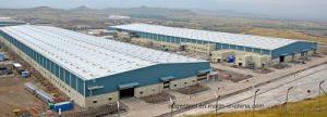 Shandong escala econômica abrangem projetos de construção dos edifícios de estrutura de aço do prédio de lona