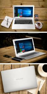 14 Zoll-mit großem Bildschirm Laptop mit der Farbe zwei weiß und schwarz