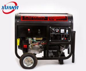elektrisches Benzin des Anfangs5kw mit Honda-Motor-Schweißens-Generator