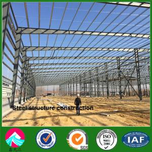 Estructura de acero de África colgador de aviones de la construcción