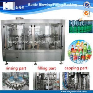 De Verzegelende Machines van het Flessenvullen van het sodawater