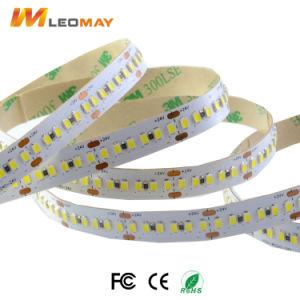 Brillo de luz LED SMD3014 con 3M de la cinta