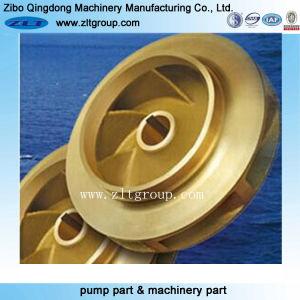 La inversión personalizada de bronce de fundición y mecanizado con rotor de la bomba de latón