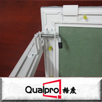 Paroi du châssis en aluminium avec panneau d'accès Placoplâtre AP7710