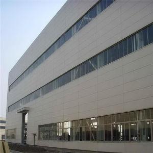 Estructura de acero fabricadas por el taller de fábrica de edificios con grúa