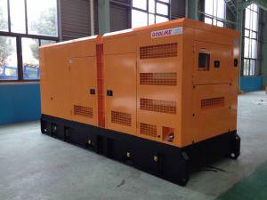 세륨 승인되는 침묵하는 유형 Cummins 220kw 디젤 엔진 발전기 (NTA855-G1A) (GDC275*S)