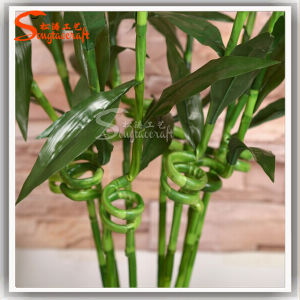 Fake Artificial interior Lucky plantas de bambu Tree