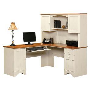 Bureau excutif de luxe blanc de bureau de modle moderne de