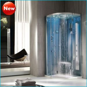 Cabina radiofonica di lusso dell'acquazzone del vapore di FM, cabina del bagno a vapore (SR9N002)