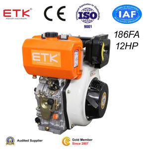12HP de lucht koelde de Enige Motor van de Dieselmotor van de Cilinder