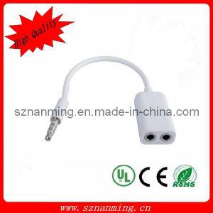 Цена по прейскуранту завода-изготовителя 3.5mm Earphone Dual Jack Splitter Audio Cable