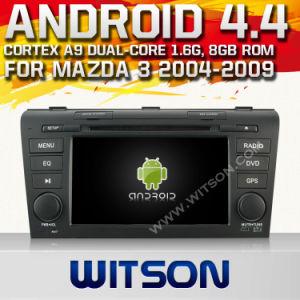 Sistema Witson Android Market 4.4 aluguer de DVD para Mazda 3
