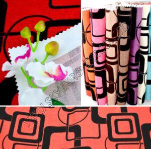 100% de poliéster pelúcias tecidos sofá para 150cm de largura