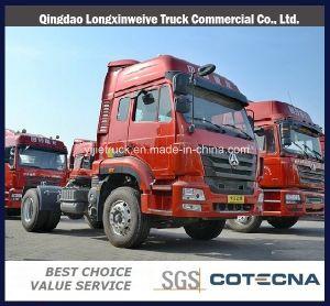 2015 Novo recipiente Tranportation Cabina Homem caminhão trator 4X2