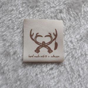 의복을%s 배려 레이블을 인쇄하는 100%Cotton 직물