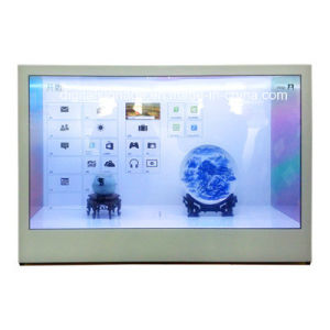 42inch Transparent Display, Customized Capacitive Touch Screen/Panel, LCD Display Monitor