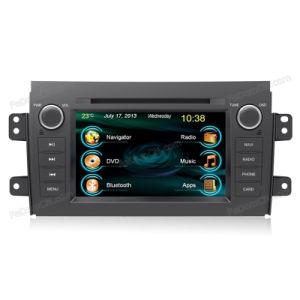 GPS를 가진 스즈끼 Sx4를 위한 7 인치 Car Audio Stereo System Accessories, Automotive DVD & Bluetooth & Radio & Navigator & iPod & 텔레비젼 & USB
