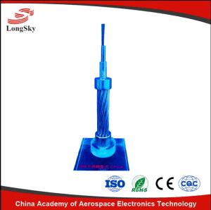 Tubo de Aço Inoxidável de encalhe composto de fibra óptica do Fio Terra Superior Opgw Sst para cabo eléctrico