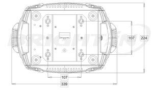 280W DJのための小型Sharpyの移動ヘッド段階ライト